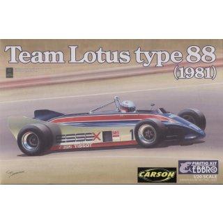 1:20 Lotus Type 88 1981