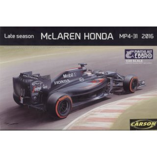 1:20 McLaren Honda MP4-31 2016 Late season