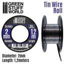 Flexibler Zinndraht 2mm (1,2m)