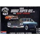 1:24 Dodge Super Bee 1969 440 Six Pack