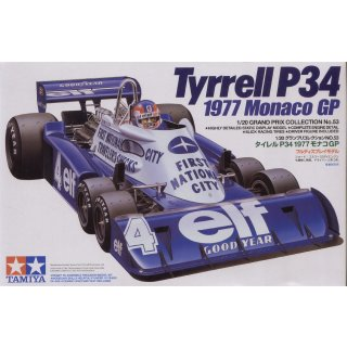 1:20 Tyrell P34 Six Wheeler Monaco GP´77