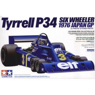 1:20 Tyrell P34 `76 JPGP m.Photoätzt.
