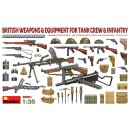 1:35 BRITISH WEAPONS & EQUIPMENT FOR TANK CREW & INFANTRY