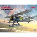 1:32 J-8 Gladiator, WWII Swedish Fighter