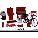 1:24 Garage & Tools SET3
