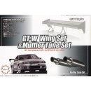 1:24 GT-Wing Set & Muffler Tune Set