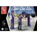"""1:25 Garage Accessory n°3 """"Get one Up"""" 2 Säulen Hebebühne"""