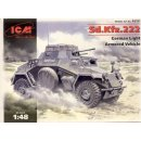 1:48 Sd.Kfz.222 German Light Armored Vehicle