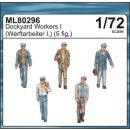 1:72 Werftarbeiter I (5 Figuren)