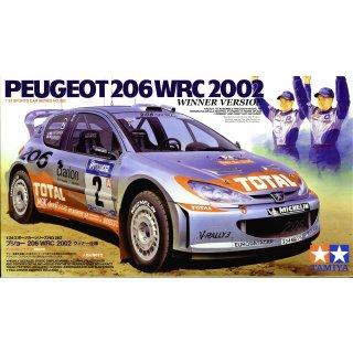 1:24 Peugeot 206 WRC 2002 (mit Figuren)