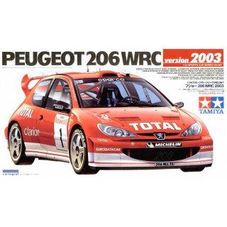 1:24 Peugeot 206 WRC 2003