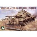 1:35 M60A1 w/ERA & M9 Bulldozer