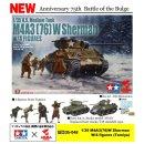 1:35 M4A3 (76) W Sherman & 4 Figuren