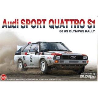 1:24 Audi Sport Quattro S1 1986 US Olympus Rally