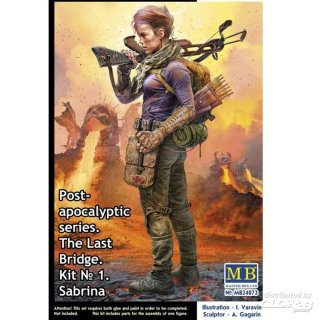 "1:24 Post-Apocalyptic Serie ""The Last Bridge"" SABRINA"