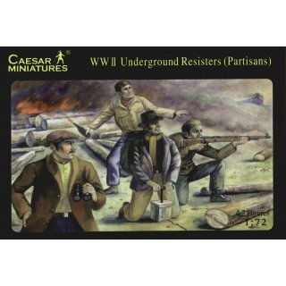 1:72 Underground Resisters WW2