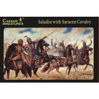 1:72 Saladin with Saracen Cavalry