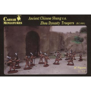 1:72 Ancient Chinese Shang & Zhou Dynasty Troopers