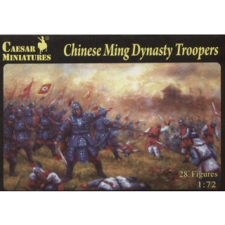 1:72 Chinese Ming Dynasty Troopers