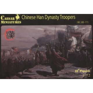 1:72 Chinese Han Dynasty Troopers