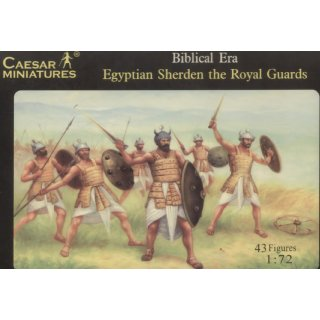 1:72 Egyptian Sherden the Guards (Biblical Era)