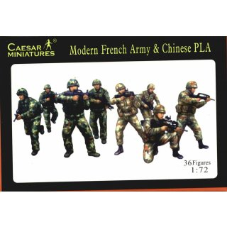 1:72 Modern French Armay & Chinese PLA