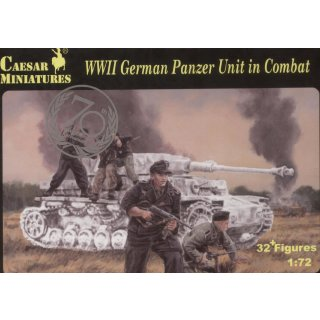 1:72 WW2 German Panzer Unit in Combat