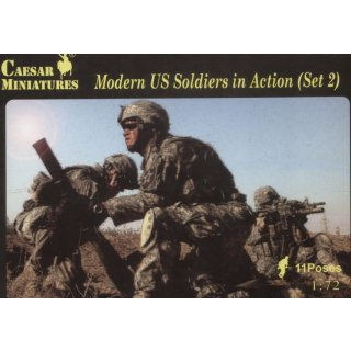 1:72 Moderrn US Soldiers in Action