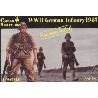 1:72 German Infantry 1943 WW 2