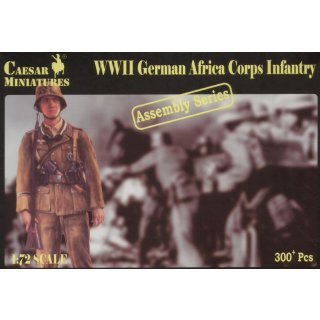 1:72 German Africa Corps Infantry