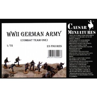 1:72 German Army  WW2 (Combout Team one)