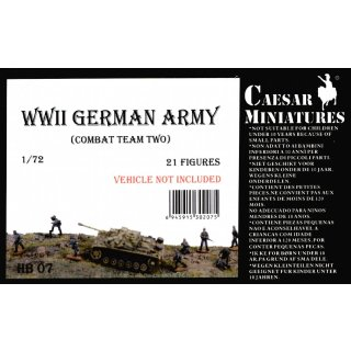 1:72 German Army  WW2 (Combout Team two)