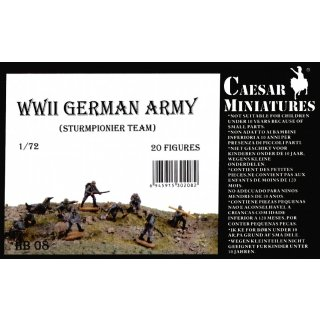 1:72 German Army  WW2 (Sturmpionier Team)