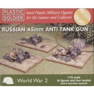 1:72 Russian 45mm Anti Tank Gun