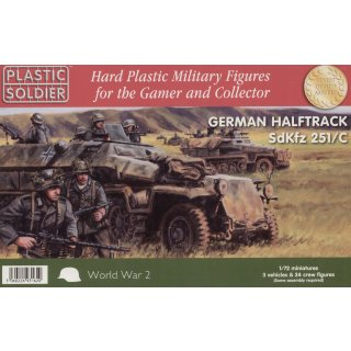 1:72 German Sd.Kfz.251/C Halftrack