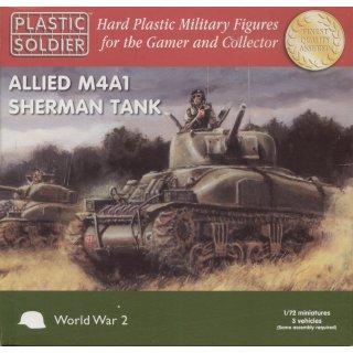 1:72 Allied M4A1 76mm  Sherman Tanks