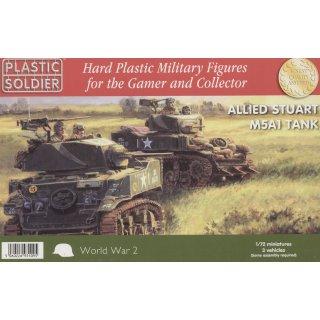 1:72 Allied Stuart M5A1 Tank
