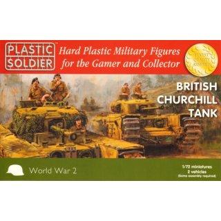 1:72 British Churchill Tank