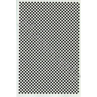 "Decal Checkers 1/4"" Wide Black"