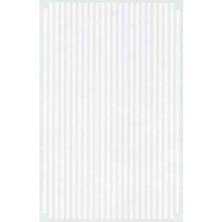 Decal Streifen weiß 1/8 ( 3,2mm)