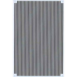 Decal Streifen schwarz 1/16 (1,6mm)