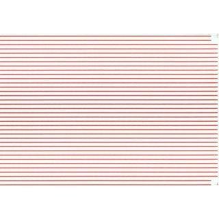 Decal Streifen rot 1/32 (0,8mm)