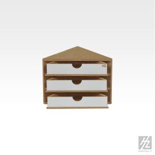 Modular Organizer ending Corner (3 Schubladen)