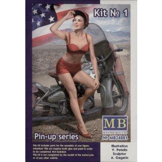 1:24 Pin-up series,Kit No.1 Marylin
