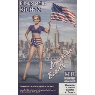 1:24 Pin-up series, Kit No.2 Betty