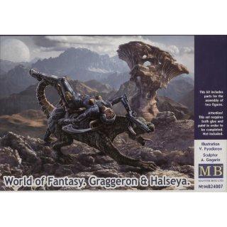 1:24 World of Fantasy.Graggeron & Halseya