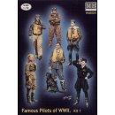 1:32 Famous WWII pilots set
