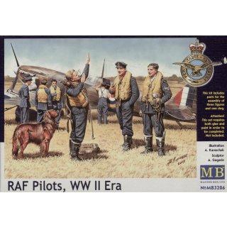 1:32 RAF pilots, WWII era
