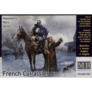 1:32 French Cuirassier,Napoleonic War Series