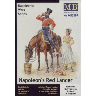 1:32 Napoleons Red Lancer, Napoleonic Wars S Serie